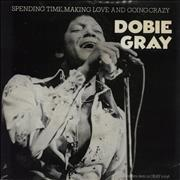Click here for more info about 'Dobie Gray - Spending Time Making Love And Going Crazy - Grey vinyl - Picture Sleeve'
