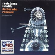 Click here for more info about 'Resistance Is Futile: Doctor Who Remixed'