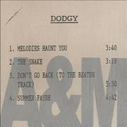 Click here for more info about 'Dodgy - Four Tracks'