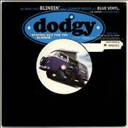 "Dodgy Staying Out For The Summer - Blue Vinyl + Numbered Sleeve UK 7"" vinyl"