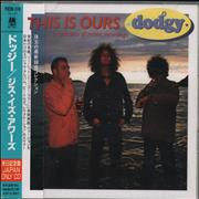 Dodgy This Is Ours: A Collection Of Recent Recordings + Obi Japan CD album Promo