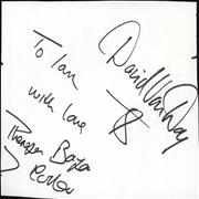 Click here for more info about 'Dollar - Autograph'