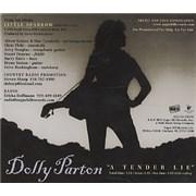 Dolly Parton A Tender Lie USA CD single Promo