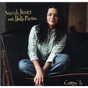 Dolly Parton Creepin' In USA CD single Promo