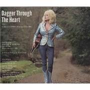 Dolly Parton Dagger Through The Heart USA CD single Promo