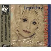 Dolly Parton Legendary Taiwan 3-CD set