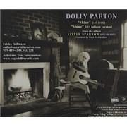 Dolly Parton Shine USA CD single Promo