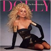 """Dolly Parton The River Unbroken Australia 7"""" vinyl"""