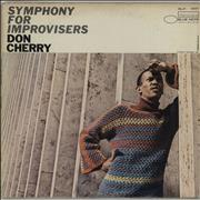 Click here for more info about 'Don Cherry - Symphony For Improvisers - NY - VG'