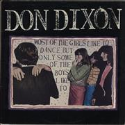 Click here for more info about 'Don Dixon - Most Of The Girls Like To Dance But Only Some Of The Boys'