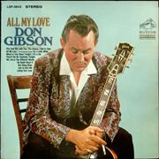 Click here for more info about 'Don Gibson - All My Love'