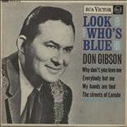 Click here for more info about 'Don Gibson - Look Who's Blue EP'