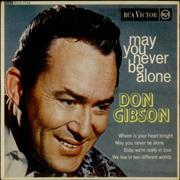 Click here for more info about 'Don Gibson - May You Never Be Alone EP'