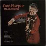 Click here for more info about 'Don Harper - On The Fiddle - Autographed'
