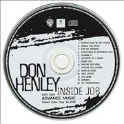 Click here for more info about 'Don Henley - Inside Job'