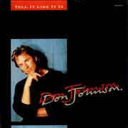 Click here for more info about 'Don Johnson - Tell It Like It Is'