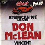 Click here for more info about 'Don McLean - American Pie (Part One)'