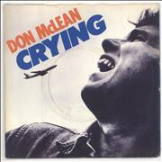 Click here for more info about 'Don McLean - Crying - P/s'