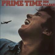 Don McLean Prime Time UK vinyl LP