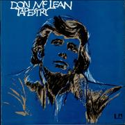 Don McLean Tapestry UK vinyl LP