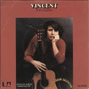 "Don McLean Vincent + Sleeve UK 7"" vinyl"