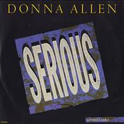 Click here for more info about 'Donna Allen - Serious'