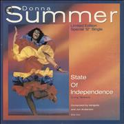 Click here for more info about 'Donna Summer - State Of Independence + Picture Sleeve'