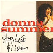 Click here for more info about 'Donna Summer - Stop, Look & Listen'