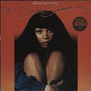 Click here for more info about 'Donna Summer - The Greatest Hits Of Donna Summer - Stickered sleeve'