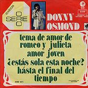 Click here for more info about 'Donny Osmond - 4 Serie Exitos EP'