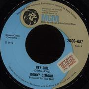 Click here for more info about 'Donny Osmond - Hey Girl - Promo Stickered'