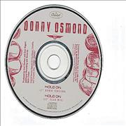 Click here for more info about 'Donny Osmond - Hold On'