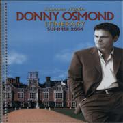 Click here for more info about 'Donny Osmond - Summer Nights Tour'