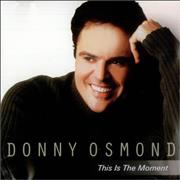 Click here for more info about 'Donny Osmond - This Is The Moment'