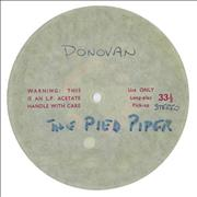 Click here for more info about 'Donovan - The Pied Piper - Unreleased Acetate'