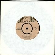 "Doris Willingham You Can't Do That UK 7"" vinyl"