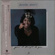 Click here for more info about 'Dorothy Moore - Givin' It Straight To You + Obi'