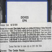 Click here for more info about 'Doves - The Cedar Room EPK'