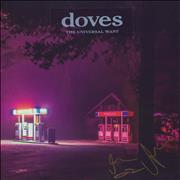Click here for more info about 'Doves - The Universal Want - Red Vinyl + Autographed - Sealed'