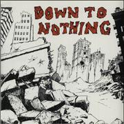 Click here for more info about 'Down To Nothing - Down To Nothing - Swirl Vinyl'