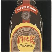 Click here for more info about 'Dr Feelgood - Milk And Alcohol - Black vinyl - Black Sleeve'