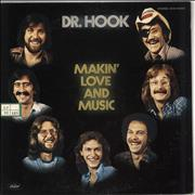 Click here for more info about 'Dr Hook - Makin' Love And Music - White label'