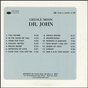 Click here for more info about 'Dr John - Creole Moon'