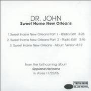 Click here for more info about 'Dr John - Sweet Home New Orleans'