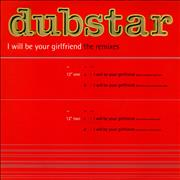 Click here for more info about 'Dubstar - I Will Be Your Girlfriend - The Remixes'