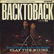 Click here for more info about 'Duke Ellington & Johnny Hodges - Back To Back - 1st - EX'