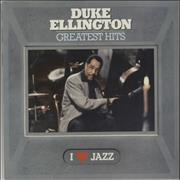 Click here for more info about 'Duke Ellington - Greatest Hits - promo stamp + sticker'