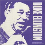 Click here for more info about 'Duke Ellington - Souvenir Brochure'