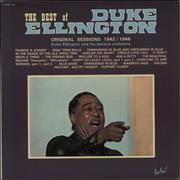 Click here for more info about 'The Best Of Duke Ellington - Original Sessions 1942/1946'
