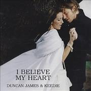 Click here for more info about 'Duncan James - I Believe My Heart'